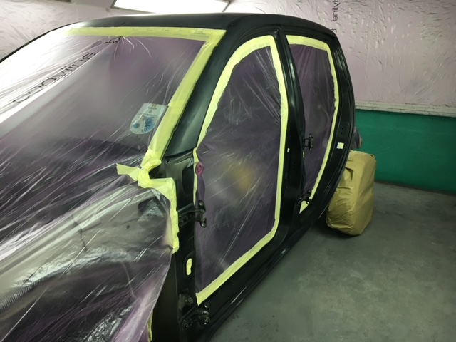Mitsubishi L200 Respray