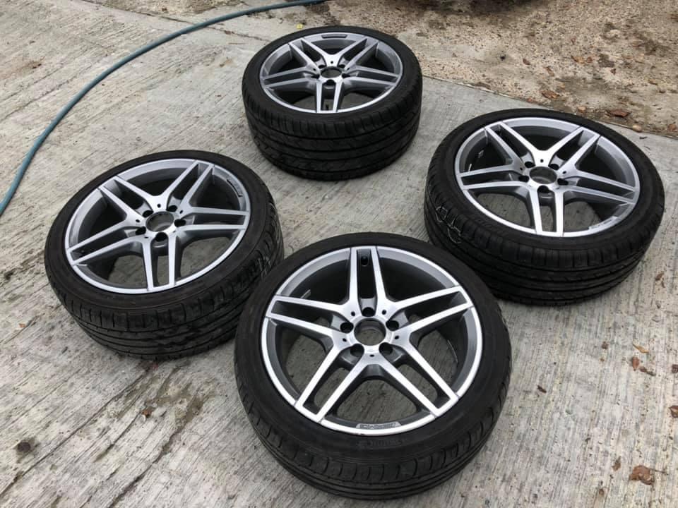 Mercedes E Class Alloy Wheel Refurbishment