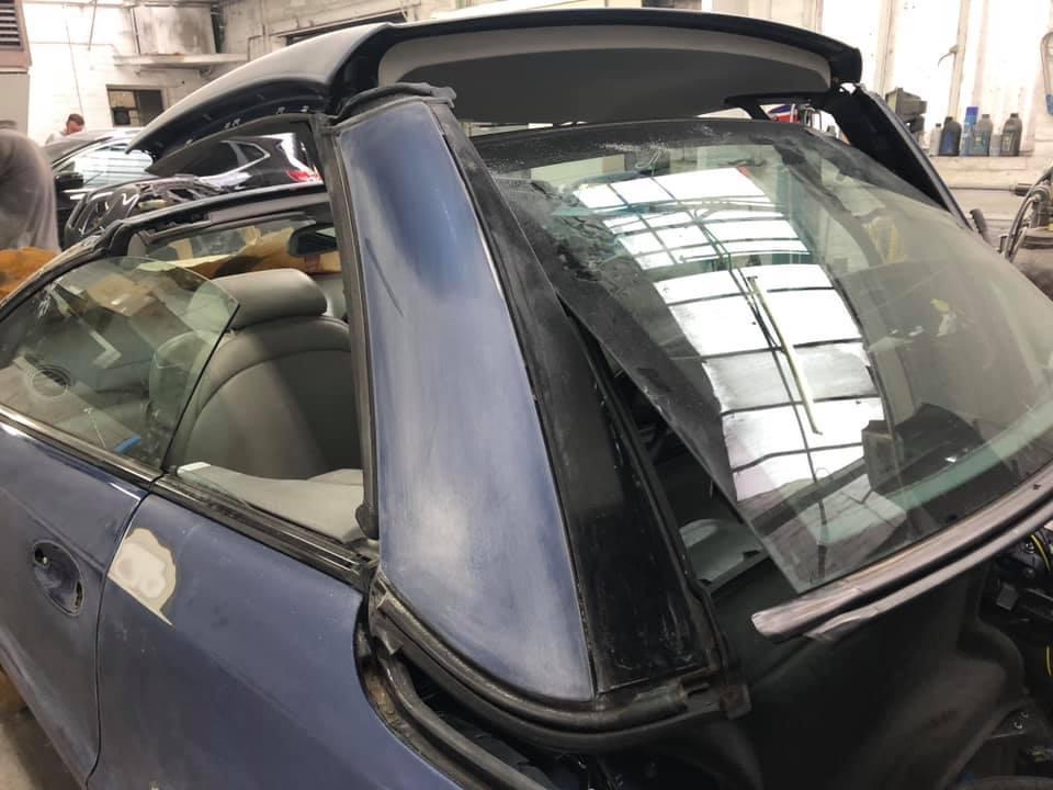 Mercedes SL Re-Spray